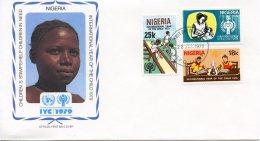 Nigeria, 1979, International Year Of The Child, IYC, United Nations, FDC, Michel 359-361 - Nigeria (1961-...)
