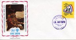 Panama, 1979, International Year Of The Child, IYC, United Nations, FDC, Michel 1326 - Panama