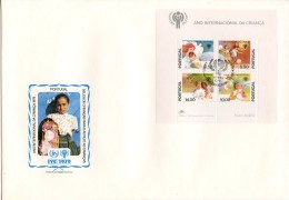 Portugal, 1979, International Year Of The Child, IYC, United Nations, FDC, Michel Block 28 - Portugal