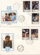 San Marino, 1979, International Year Of The Child, IYC, United Nations, FDC, Michel 1182-1186 - San Marino