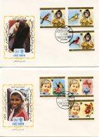 Yemen Arab Republic, 1979, International Year Of The Child, IYC, United Nations, FDC, Michel 1602-1607A - Yemen