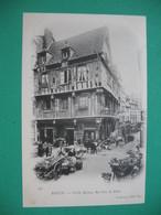 Rouen  Vieilles Maisons Rue Eau De Robec - Monuments
