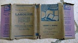 VIEUX COUVRE LIVRE En Mauvais état - LIBRAIRIE A. MONDOU SENS PLACE DE LA CATHEDRALE - YONNE - - L