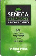 Seneca Allegany Casino Hotel Room Key - Hotel Keycards