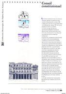 """"""" 50 ANS DU CONSEIL CONSTITUTIONNEL"""" Sur Document Officiel De 2009  N° YT 4347. DPO - Documents De La Poste"""