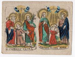 Familia Sacra Ioachim Maria Anna - Devotieprenten