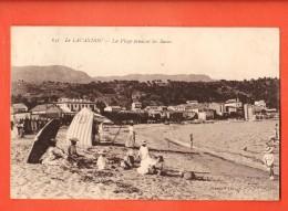 GBJ-13  Le Lavandou  La Plage Pendant Les Bains. Circulé En 1923 - Le Lavandou