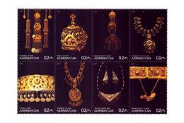 Azerbaijan New Issued Stamps 2017 .  Jewelery And Ornaments - Azerbaïjan