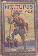 Lectures Pour Tous Scout Sur La Couverture 9 Pages Sur Les éclaireurs De France 15 Septembre 1913 - Scoutisme