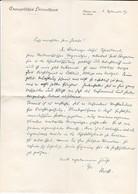 Empfehlungsschreiben Prof. Stock - Evangelisches Heimathaus - 1947 (33382) - Historische Dokumente