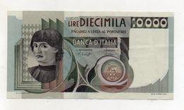 """Italia - Banconota Da Lire 10.000 """" Macchiavelli """" - Decreto 30.10.1976 - (FDC8508) - [ 2] 1946-… : Républic"""