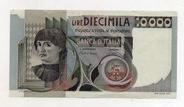 """Italia - Banconota Da Lire 10.000 """" Macchiavelli """" - Decreto 3.11.1982 - (FDC8509) - [ 2] 1946-… : Républic"""