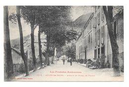(19058-09) Aulus Les Bains - Avenue Et Hôtel De France - Animé - France