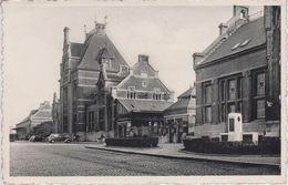 CPSM Ath - La Gare Et La Poste - Ath