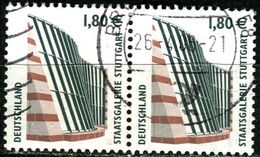 A12-11-3) BRD - Michel 2313 Waagrechtes Paar - OO Gestempelt (M) - 180-180C    Sehenswürdigkeiten XXXIV - [7] República Federal