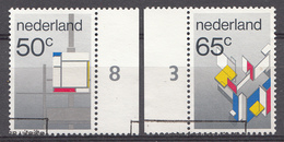 Pays-Bas 1983  Mi.nr: 1234-1235 Gemälde Der Stijl-Bewegung  Oblitérés / Used / Gestempeld - Periode 1980-... (Beatrix)
