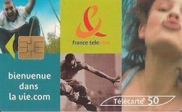 CARTE°-PUBLIC-F 1042 B-SO6-50U-03/00-VIE.COM ROLLER-UTILISE-TBE- - France
