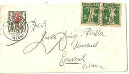 Taxiertes Brieflein  Basel Kannenfeld - Eriswil              1935 - Cartas