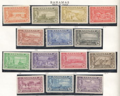BAHAMAS  1948  Tercentenary Settlement Of Eleuthera  To 5/-  MM - MH - 1859-1963 Crown Colony