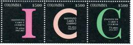 Colombia 2017 ** Serie 75 Años Instituto Caro Y Cuervo. See Desc. - Colombie