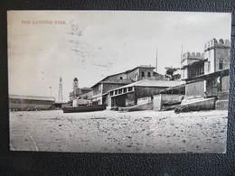 AK ZANZIBAR Sansibar The Landing Pier 1910  //  D*30472 - Tansania