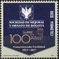 Colombia 2017 ** Sociedad De Mejoras Y Ornato De Bogotá. See - Colombie