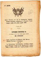 1967 DECRETO COMMISSIONE AMMINISTRATIVA MARITTIMA - Decreti & Leggi