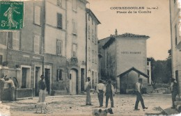 H62 - 06 - COURSEGOULES - Alpes-Maritimes - Place De La Combe - Other Municipalities