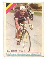 Carte De Collection Chewing-Gum Olympiad Stan Ockers Belgique - Cyclisme