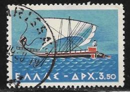 Greece, Scott # 622 Used Ship, 1958 - Greece