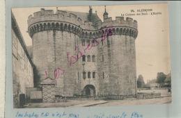 CPA 61  ALENCON Le Chateau  Des Ducs  L'Entrée Fev  2018 875 - Alencon
