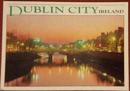 DUBLIN CITY - EIRE - River Street View Vg - Dublin