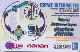 BURKINA : BKF01 TELMOB Nanan Espace Internautes USED - Burkina Faso