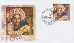 Enveloppe  FDC  1er  Jour   POLYNESIE   Heiva   2008 - FDC