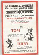 FILM - OFFICE : LES NOUVEAUTES 1972 / 1973 : TOM ET JERRY , ASTRERIX LE GAULOIS ... - Other Formats
