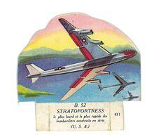 DECOUPIS IMAGE AVION LE B52 STRATOFORTRESS USA - Découpis