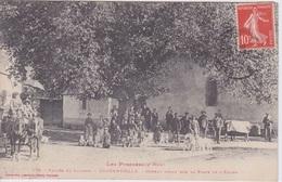 65 - LOUDENVIELLE - VALLÉE DU LOURON - Ormeau  Sur La Place De L'Eglise - (Arbre - Attelage - Chiens Pyrénéens - Boeufs) - Altri Comuni