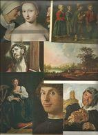 7 CART.  SAMMLUNG THYSSEN BORNEMIZA VILLA FAVORINA CASTAGNOLA - OPERE D'ARTE   (214) - Cartoline