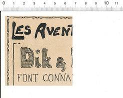 2 Scans Presse 1910 Humour Basse-cour Canard Cane Homme Battu Par Sa Femme Mare  51C3 - Vieux Papiers