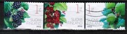 2013 Finland, Garden Berries, Complete Set Used. - Finlande