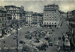 D1137 Roma ( Rome ) Piazza Barberini - Places & Squares