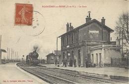 BONNIERES-sur-SEINE -la Gare-ed. A. Lavergnes - Bonnieres Sur Seine