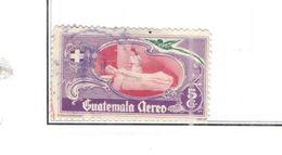 Guatemala PA 1950 Fondo Ospedali Scott.C177+Used See Scans On Scott.Pages - Guatemala