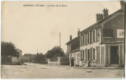 VERNEUIL L'Etang Le Rue De La Gare - Verneuil-sur-Avre