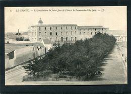 CPA - LE CROISIC - Le Sanatorium De St Jean De Dieu Et La Promenade De La Jetée - Le Croisic