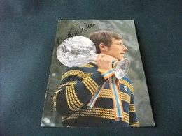 GUSTAV THONI VINCITORE DELLA COPPA DEL MONDO SCI ALPINO 1971 - Personalità Sportive