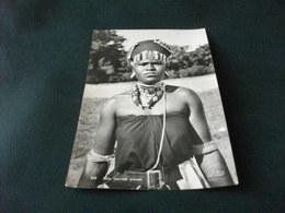 DONNA AFRICANA ZULU MARRIED WOMAN  DURBAN COSTUME AFRICANO  PIEGA ANG. - Costumi