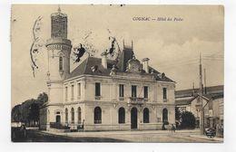 (RECTO / VERSO) COGNAC EN 1913 - HOTEL DES POSTES - BEAU CACHET - CPA VOYAGEE - Cognac
