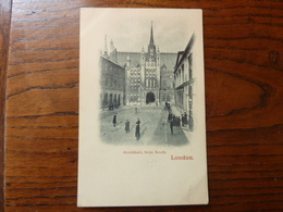 London - Guildhall, From South - London