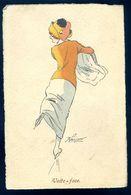 Cpa Volte Face  Illustrateur Bréjezan M.M. Vienne M. Munk    SEP17-99 - Illustrators & Photographers
